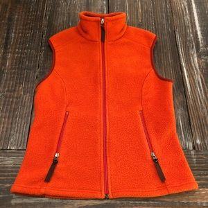 Patagonia Synchilla Orange Womens Size Small Vest